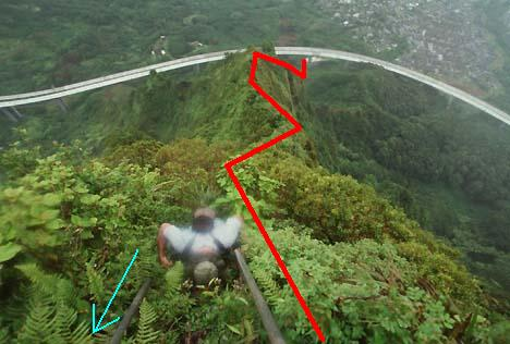 Haiku Stairs, stairway to heaven